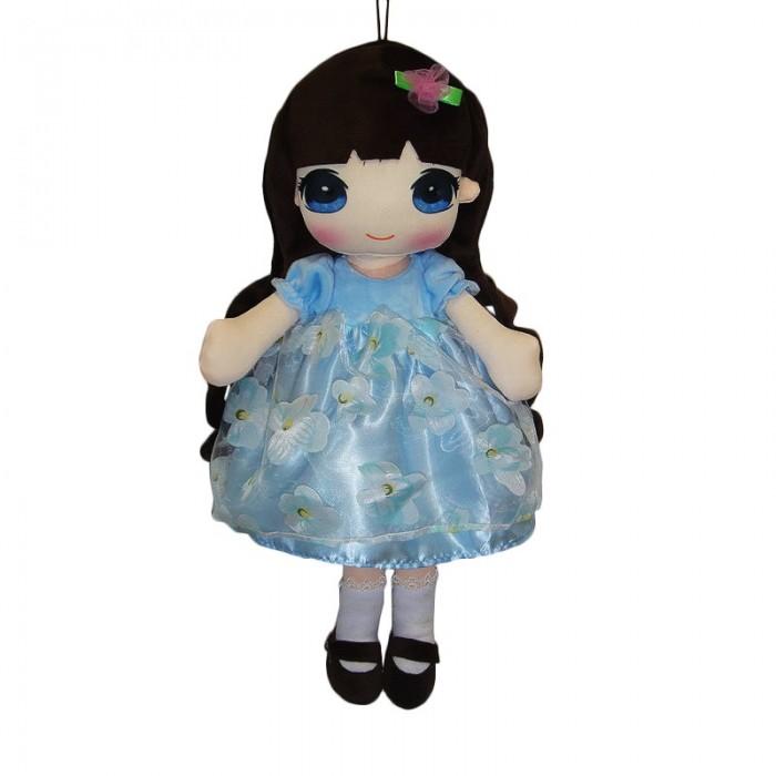 Фото - Мягкие игрушки ABtoys Кукла в голубом платье 50 см мягкая игрушка abtoys кукла рыжая в голубом платье 20 см