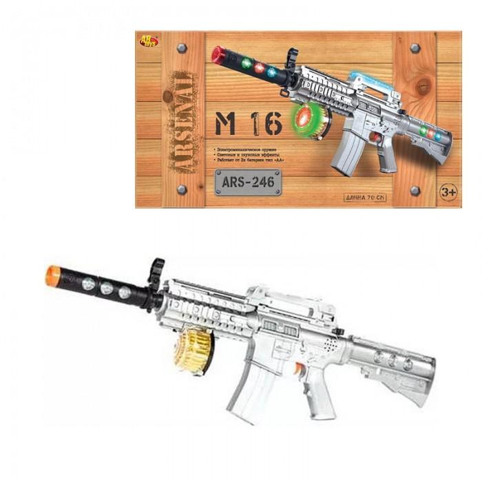 Игрушечное оружие ABtoys Винтовка М-16 игрушечное оружие abtoys винтовка м 16