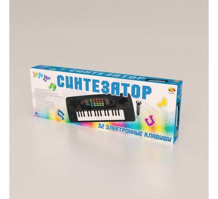 Купить Музыкальные инструменты, Музыкальный инструмент ABtoys Синтезатор с микрофоном (32 клавиши)