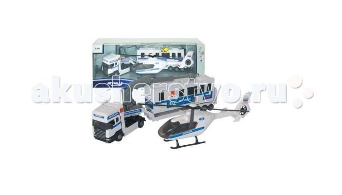 Autotime Набор машина и вертолет Scania Team