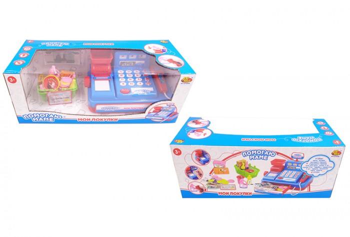 Ролевые игры ABtoys Помогаю маме Касса с аксессуарами PT-01044 ролевые игры abtoys помогаю маме швейная машинка