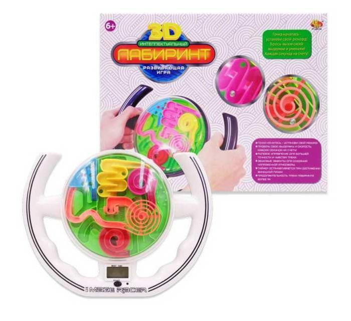 Купить Развивающие игрушки, Развивающая игрушка ABtoys Лабиринт интеллектуальный 3D с электронным таймером