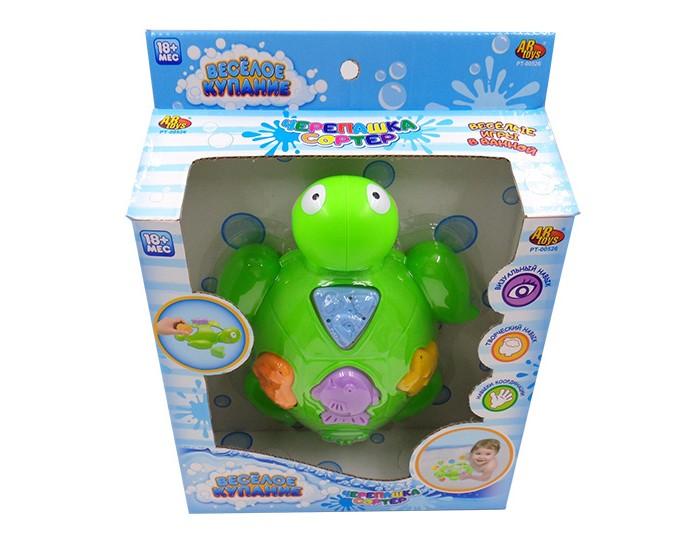 Игрушки для ванны ABtoys Веселое купание Черепашка с аксессуарами (5 предметов)