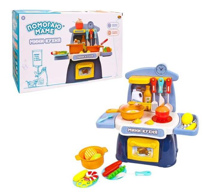 Ролевые игры ABtoys Помогаю маме Кухня-мини ролевые игры abtoys помогаю маме кухня мини
