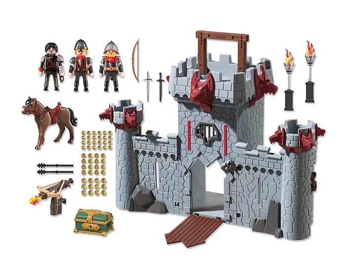 Конструкторы Playmobil Возьми с собой: Черный замок Барона Супер4 (149 деталей) playmobil® возьми с собой пляжное бунгало playmobil