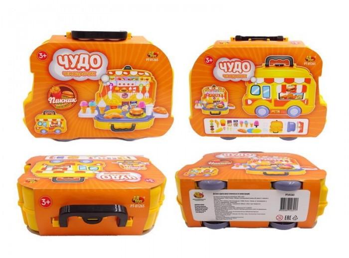Ролевые игры ABtoys Чудо-чемоданчик Пикник (26 предметов) магазин abtoys чудо чемоданчик на колесиках продуктовый магазин pt 01272