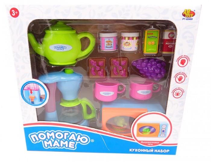 Ролевые игры ABtoys Помогаю маме Кухонная техника с продуктами (14 предметов)
