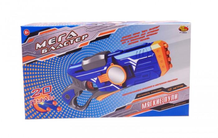 Игрушечное оружие ABtoys Мегабластер, стреляющий мягкими снарядами