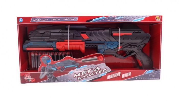 Картинка для ABtoys Мегабластер, стреляющий мягкими снарядами 10 шт.