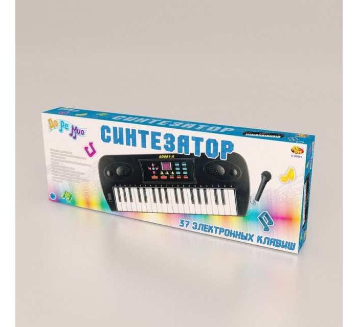 Купить Музыкальные инструменты, Музыкальный инструмент ABtoys Синтезатор с микрофоном и дисплеем (37 клавиш)