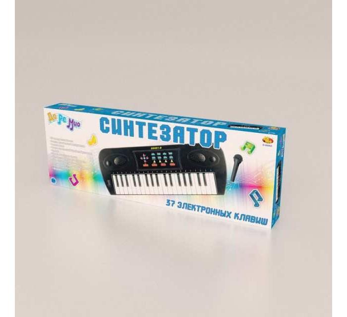 Купить Музыкальные инструменты, Музыкальный инструмент ABtoys Синтезатор с микрофоном и адаптером (37 клавиш)