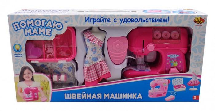 Ролевые игры ABtoys Помогаю маме Швейная машинка с аксессуарами ролевые игры abtoys помогаю маме швейная машинка