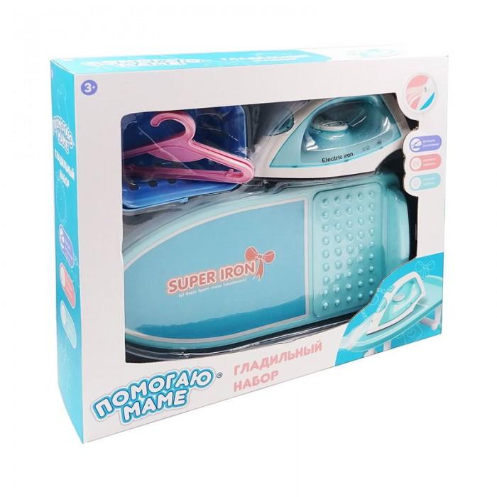 Ролевые игры ABtoys Помогаю маме Гладильный набор с утюгом ролевые игры abtoys помогаю маме швейная машинка