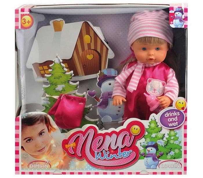 Куклы и одежда для кукол Dimian Кукла Nena зимний набор 36 см