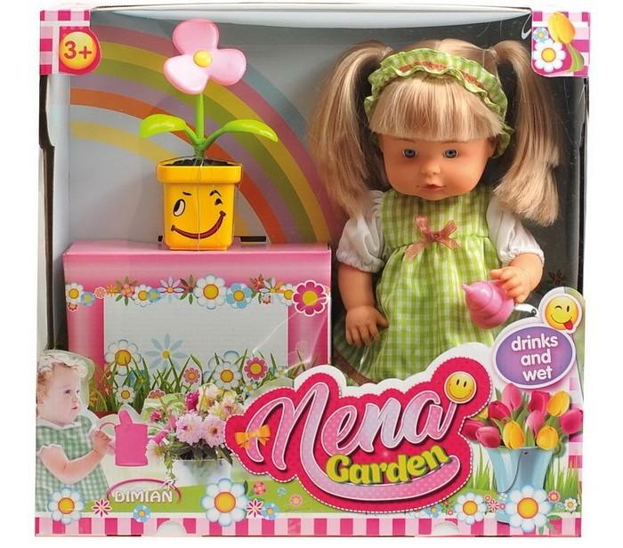 Dimian Кукла Nena с цветком 36 см фото