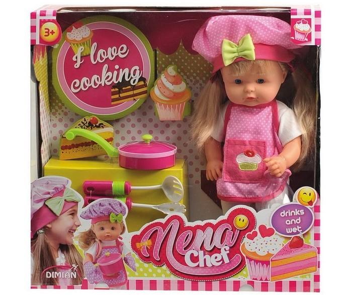 Купить Куклы и одежда для кукол, Dimian Кукла Nena Шеф-повар 36 см