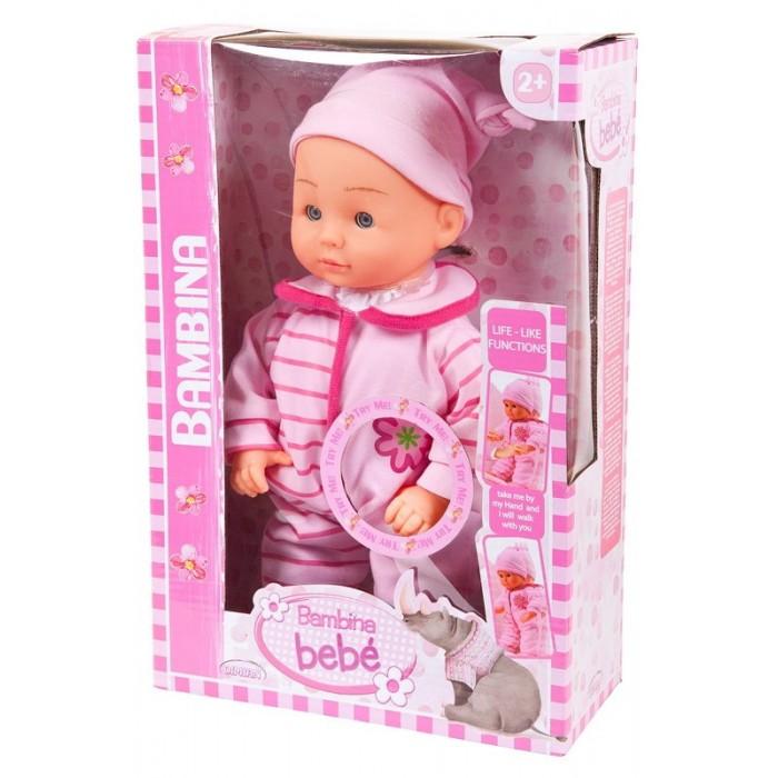 Куклы и одежда для кукол Dimian Кукла-пупс Bambina Bebe 33 см куклы и одежда для кукол dimian кукла пупс bambina bebe 42 см