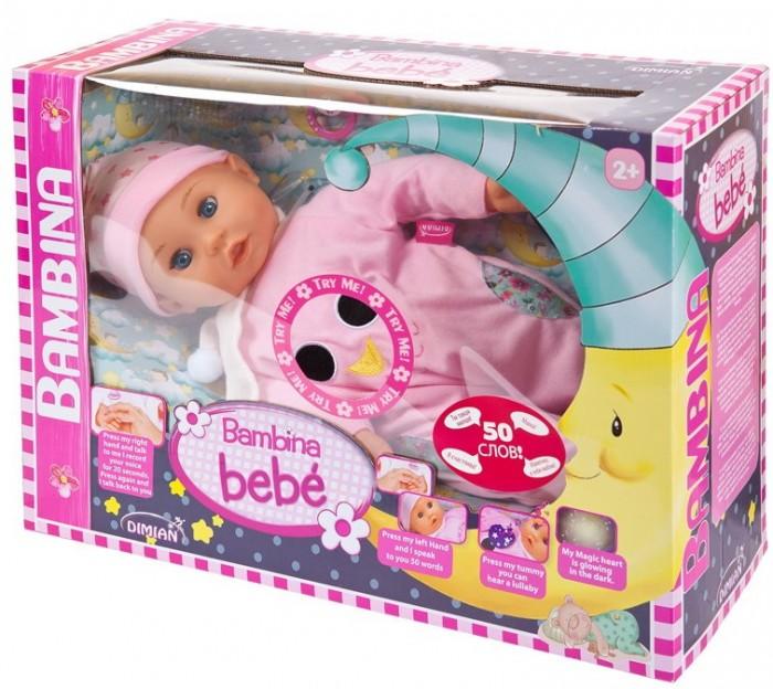Купить Куклы и одежда для кукол, Dimian Кукла-пупс Bambina Bebe 42 см