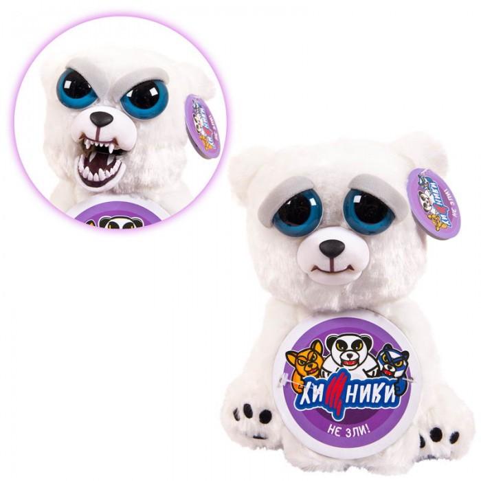 Картинка для Мягкая игрушка ABtoys Медведь полярный Хищники 20 см