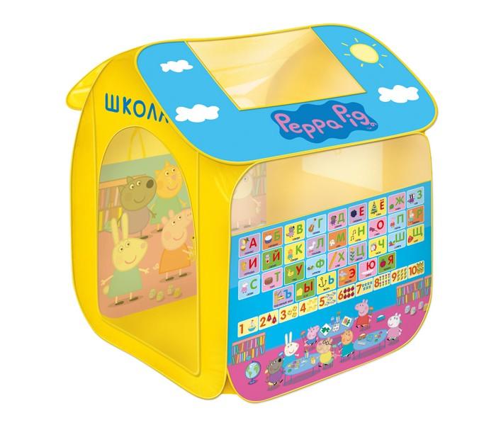 Купить Палатки-домики, Свинка Пеппа (Peppa Pig) Игровая палатка Учим азбуку с Пеппой (в мягкой упаковке)