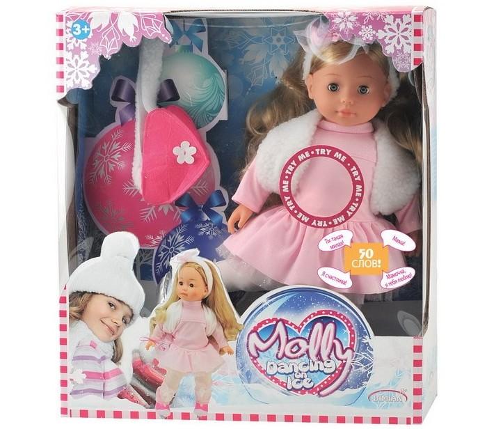 Картинка для Куклы и одежда для кукол Dimian Кукла Молли-Фигуристка с аксессуарами 40 см