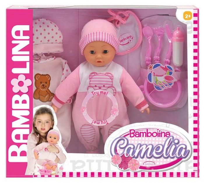 Куклы и одежда для кукол Dimian Кукла-пупс интерактивная Camelia 40 см