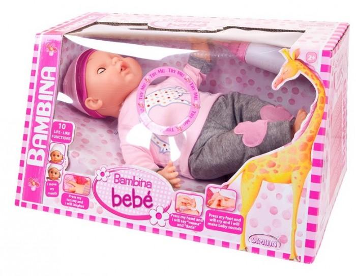 Купить Куклы и одежда для кукол, Dimian Кукла-пупс Bambina Bebe 40 см