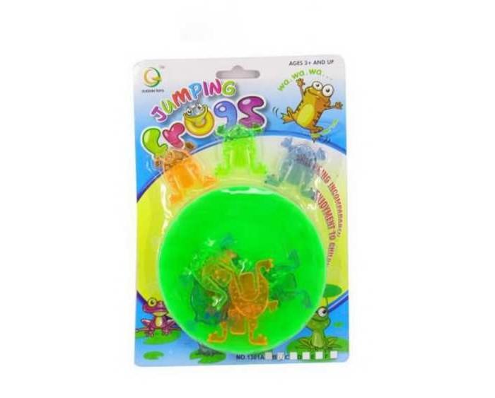 прыгающие горшочки Развивающие игрушки Junfa Прыгающие лягушки 1301B
