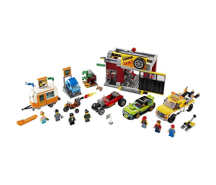 Lego Lego City 60258 Лего Город Тюнинг-мастерская