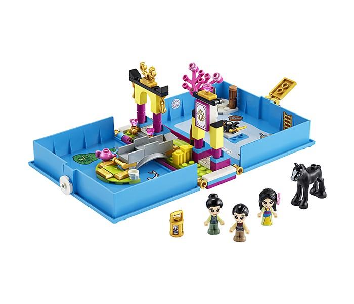 Lego Lego Disney Princess 43174 Лего Принцессы Книга сказочных приключений Мулан конструктор lego disney princess 43176 книга сказочных приключений ариэль
