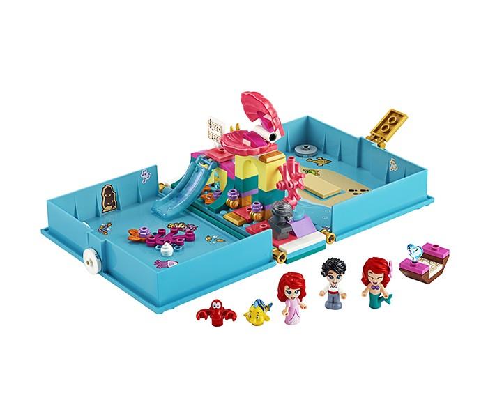 Lego Lego Disney Princess 43176 Лего Принцессы Книга сказочных приключений Ариэль конструктор lego disney princess 43176 книга сказочных приключений ариэль