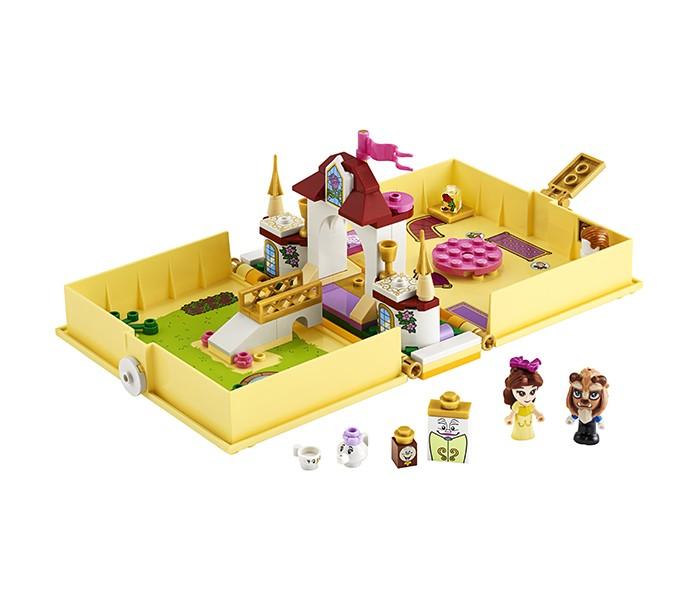 Конструктор Lego Disney Princess 43177 Лего Принцессы Книга сказочных приключений Белль