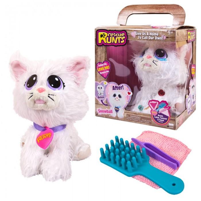 Картинка для Мягкая игрушка ABtoys Кошка плюшевая Спаси друга!