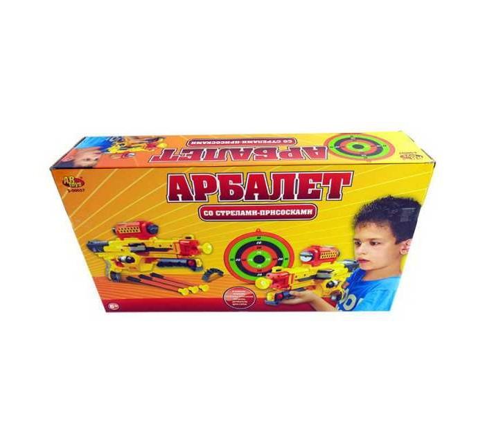 Купить Игрушечное оружие, ABtoys Арбалет со стрелами на присосках S-00057