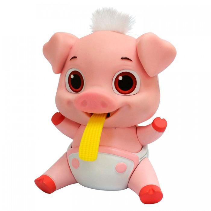 Интерактивная игрушка ABtoys Лакомки-Munchkinz Свинка
