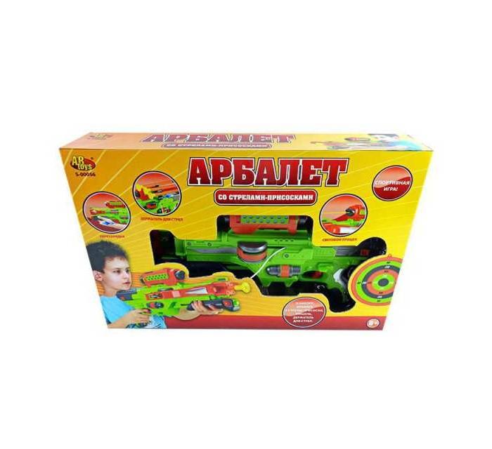 ABtoys Арбалет со стрелами на присосках S-00056