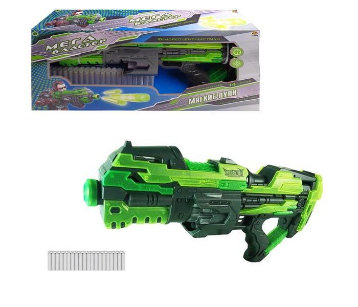 Игрушечное оружие ABtoys Мегабластер с 20 мягкими снарядами игрушечное оружие abtoys винтовка м 16