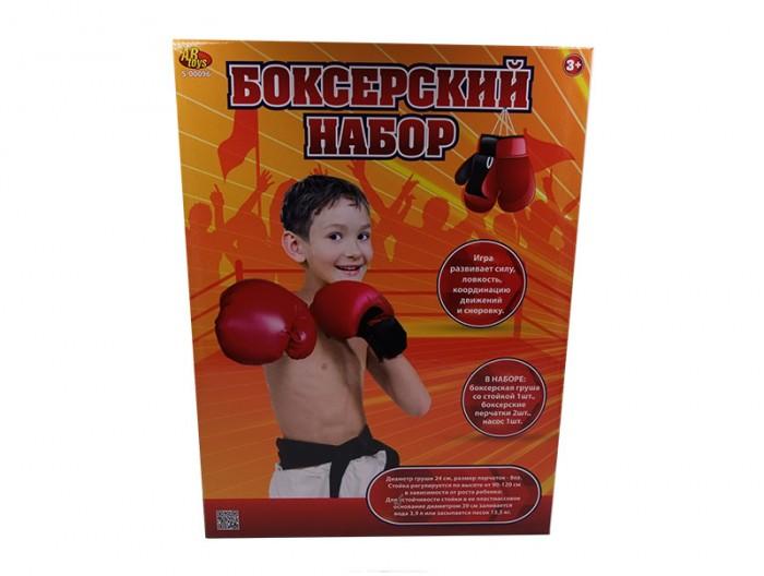 Спортивный инвентарь ABtoys Игра активная Боксерский набор (4 предмета)
