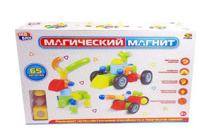 Фото - Конструкторы ABtoys Магический магнит (65 деталей) магнитный конструктор abtoys магический магнит pt 00751