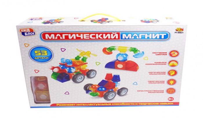 Фото - Конструкторы ABtoys Магический магнит (53 детали) магнитный конструктор abtoys магический магнит pt 00751