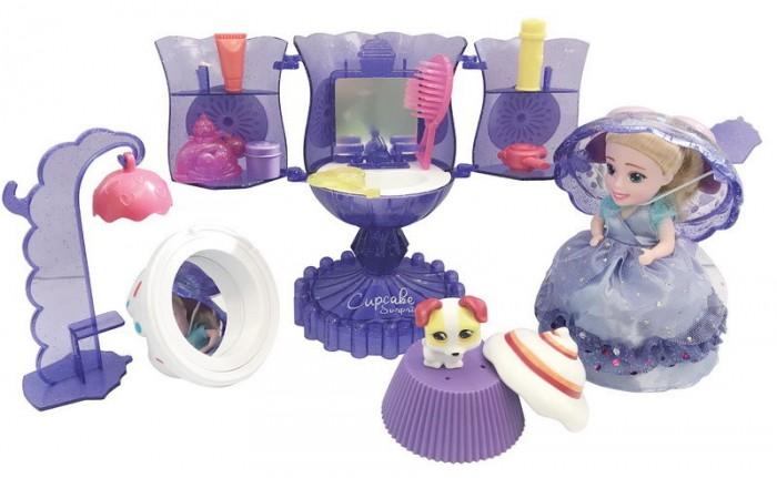Игровые наборы Emco Cupcake Surprise Набор Мороженое: туалетный столик с куклой-капкейк и питомцем