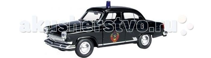 Машины Autotime Машина ГАЗ-21 Волга служебная autotime модель автомобиля uaz 39625 мчс россии