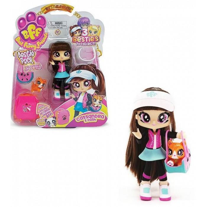 HeadStart Кукла с питомцем Cassandra & Dash с аксессуарами