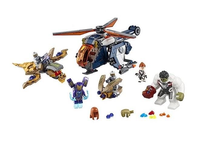 Конструктор Lego Super Heroes 76144 Лего Супер Герои Спасение Халка на вертолёте
