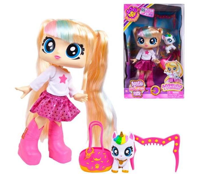 HeadStart Кукла Big Bestie Анджелина с питомцем