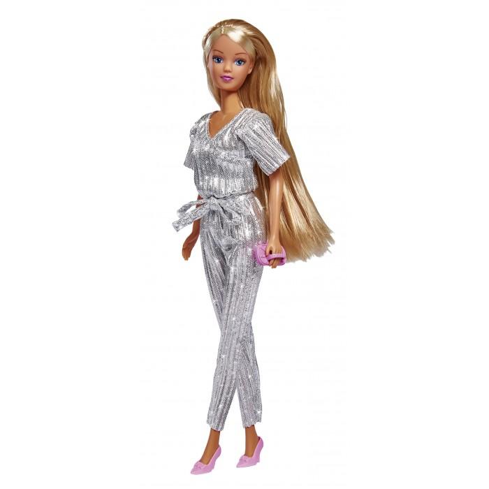 Картинка для Куклы и одежда для кукол Simba Кукла Штеффи в блестящем комбинезоне 29 см
