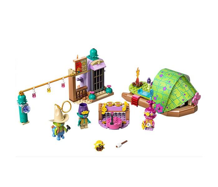 Купить Конструктор Lego Trolls 41253 Лего Тролли Приключение на плоту в Кантри-тауне