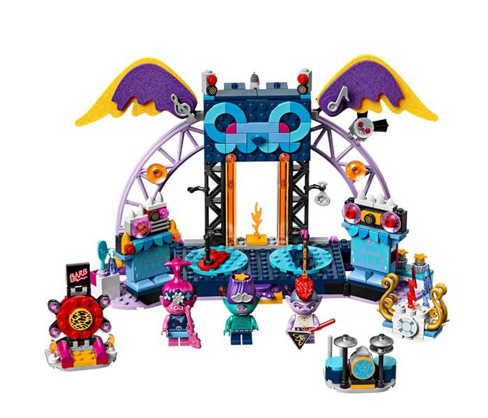 Конструктор Lego Trolls 41254 Лего Тролли Концерт в городе Рок-на-Вулкане