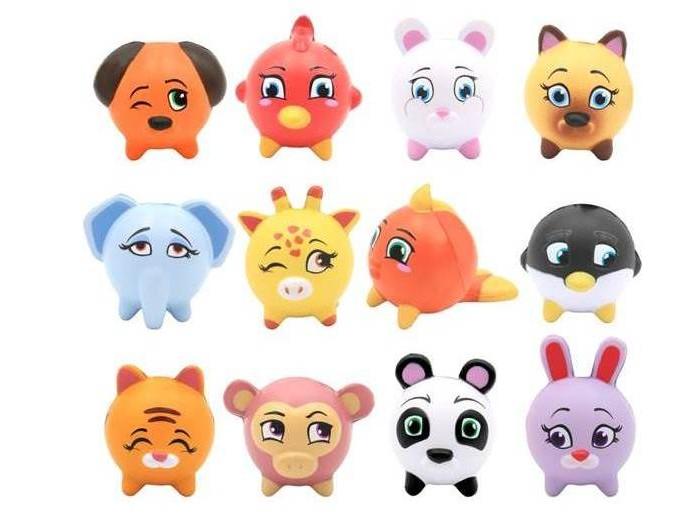 Игровые фигурки Kawaii Squeezies Игрушка Животные