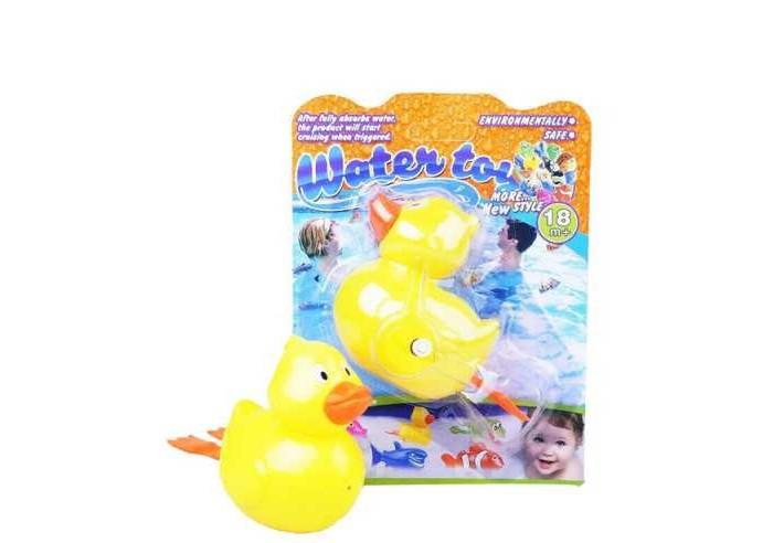Игрушки для ванны Junfa Игрушка для ванной заводная Утенок